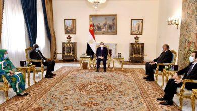 """Photo of """"السيد الرئيس يؤكد ان مصر لم ولن تدخر جهداً تجاه دعم أشقائها الأفارقة"""