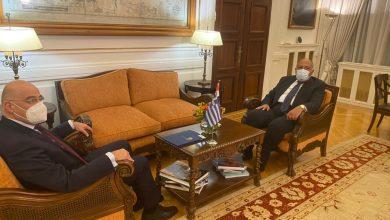 Photo of في مستهل زيارته إلى اليونان.. الوزير سامح شكري يلتقي نظيره اليوناني في أثينا