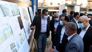 Photo of رئيس الوزراء يتفقد مشروع تطوير منطقة مثلث ماسبيرو