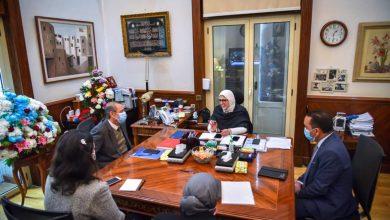 Photo of وزيرة الصحة تنقل رسالة شكر وتقدير رئيس مجلس الوزراء  لقطاع الطب الوقائي