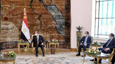 """Photo of استقبل السيد الرئيس عبد الفتاح السيسي اليوم السيد عبد الحميد الدبيبة"""" رئيس الحكومة الليبية الجديدة """""""