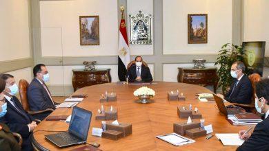 """Photo of """"السيد الرئيس يتطلع علي مستجدات الموقف التنفيذي للبنية التحتية التكنولوجية للحي الحكومي بالعاصمة الإدارية الجديدة"""""""