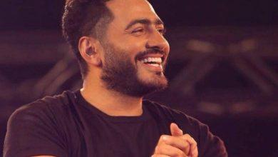 Photo of تامر حسني في عيد الحب علي نجوم اف ام