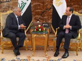 """Photo of رئيس الوزراء العراقى يعزي السيد الرئيس فى ضحايا الحادث الأليم """"ققطاري طهطا"""""""