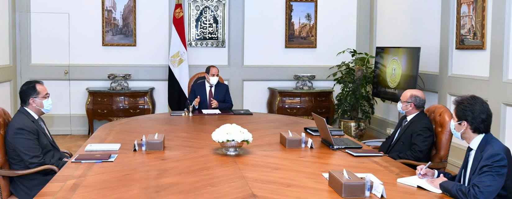 السيد الرئيس يوجه بتأجيل تطبيق القانون رقم ١٨٦ لسنة ٢٠٢٠ الخاص بتعديل قانون الشهر العقاري