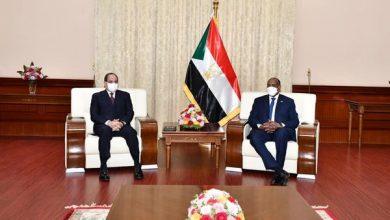 Photo of التقى السيد الرئيس عبد الفتاح السيسي اليوم بالقصر الجمهوري في العاصمة السودانية الخرطوم