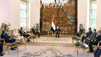 """Photo of """"السيد الرئيس يبحث مع رئيس الوزراء السوداني الجهود المشتركة بين مصر والسودان تجاه قضية سد النهضة"""""""