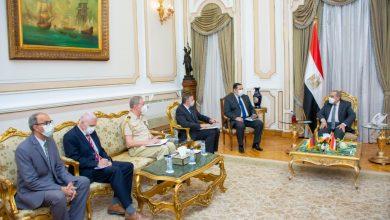"""Photo of وزير الدولة للإنتاج الحربي"""" و""""السفير الألماني"""" يبحثان أوجه تعزيز التعاون المشترك"""