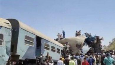 Photo of الصحة: 91 مصابًا و 32 وفاة في حادث تصادم قطارين بسوهاج
