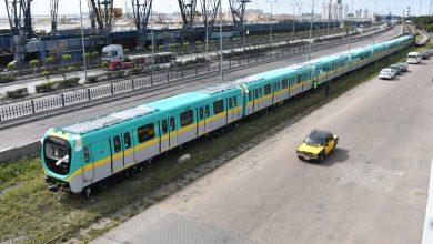 Photo of وزارة النقل تعلن وصول قطار مترو الأنفاق السابع
