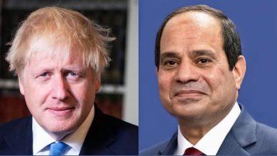 """Photo of """"السيد الرئيس يبحث هاتفياً مع رئيس الوزراء البريطاني الملف الليبي وقضية سد النهضة والعلاقات الثنائية"""""""