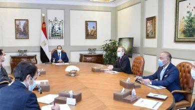 "Photo of السيسي يستقبل رئيس مجموعة ""الستوم"" الفرنسية"