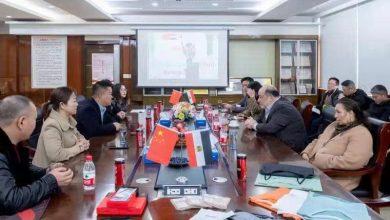 "Photo of زيارة قنصل عام جمهورية مصر العربية في شنغهاي لمدينة ""إيوا"""