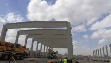 Photo of بدء تركيب الهيكل الخرساني الرئيسي لأكبر مصنع غزل في العالم بالمحلة