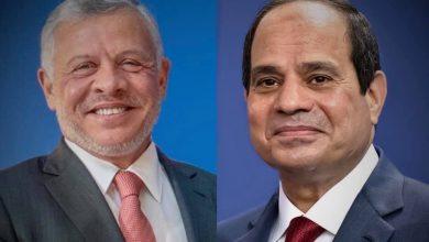Photo of تلقى السيد الرئيس عبدالفتاح السيسي اليوم اتصالًا هاتفياً من الملك عبدالله الثاني بن الحسين، ملك المملكة الأردنية الهاشمية