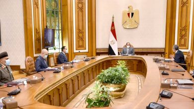 "Photo of ""السيد الرئيس يتابع موقف التغذية الكهربائية للمشروع القومي لتنمية سيناء، وتطوير قرى الريف المصري"""