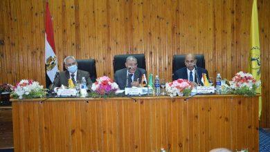 Photo of اجتماع محافظ المنيا مع مجلس الجامعة ومناقشة المشروعات التنموية
