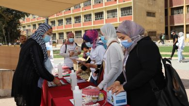 "Photo of حملات توعية بكلية طب الاسنان جامعة عين شمس تحت عنوان ""صحتك في نظافة سنتك"""