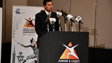 Photo of وزير الرياضة يعلن تفاصيل استضافة مصر لبطولة العالم للسلاح للناشئين والشباب
