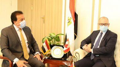 Photo of وزير التعليم العالي يبحث آليات التعاون العلمي مع السفير الكندي بالقاهرة