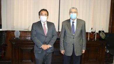 Photo of *وزير الكهرباء الطاقة المتجددة يبحث مع الرئيس الجديد للوكالة اليابانية للتعاون الدولي (JICA) لمنطقة الشرق الأوسط وأووربا سبل دعم وتعزيز التعاون المشترك*