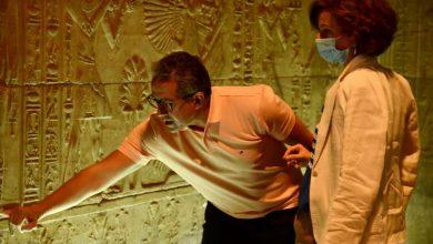 Photo of وزير السياحة والآثار  ومدير عام منظمة اليونسكو يقومان بجولة بمحافظة أسوان
