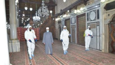 Photo of استعداداً لشهر رمضان المبارك انطلاق حملة الأوقاف الموسعة لنظافة وتعقيم المساجد على مستوى الجمهورية