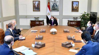 Photo of الرئيس يتابع نشاط شركة إيني الإيطالية في مجال التنقيب والإنتاج بقطاع الغاز والبترول في مصر