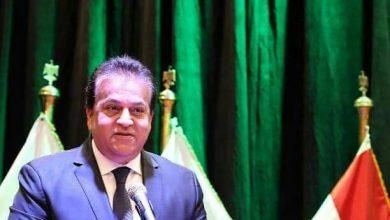 Photo of وزير التعليم العالي يتلقى تقريرًا حول مشروع تأهيل المعامل بالجامعات المصرية للاعتماد الدولي