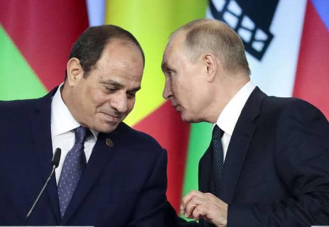 """""""الرئيس والرئيس الروسي"""" يتوافقان على استئناف حركة الطيران الكاملة بين مطارات البلدين بما في ذلك الغردقة وشرم الشيخ"""
