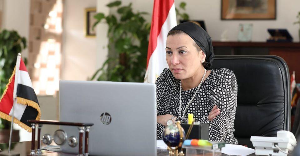 """""""وزيرة البيئة"""" القيادة السياسية تولى اهتماما كبيرا برفع الوعى البيئى لدى المواطنين"""