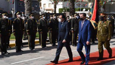 Photo of استقبال رسمى لرئيس الوزراء فى مقر الحكومة الليبية وعزف السلام الوطنى للبلدين