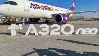 Photo of آيركايرو تستقبل أولى طائراتها الجديدة  A320neo