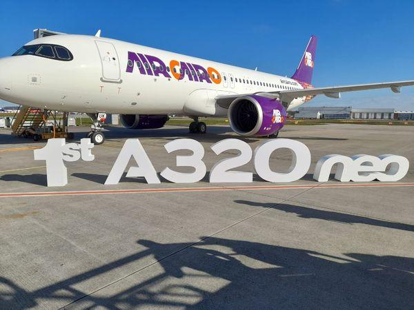 آيركايرو تستقبل أولى طائراتها الجديدة  A320neo