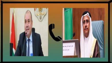 Photo of خلال اتصال هاتفي (رئيس البرلمان العربي) يؤكد على محورية الدور الأردني في دعم القضايا العربية ومساندة الأشقاء