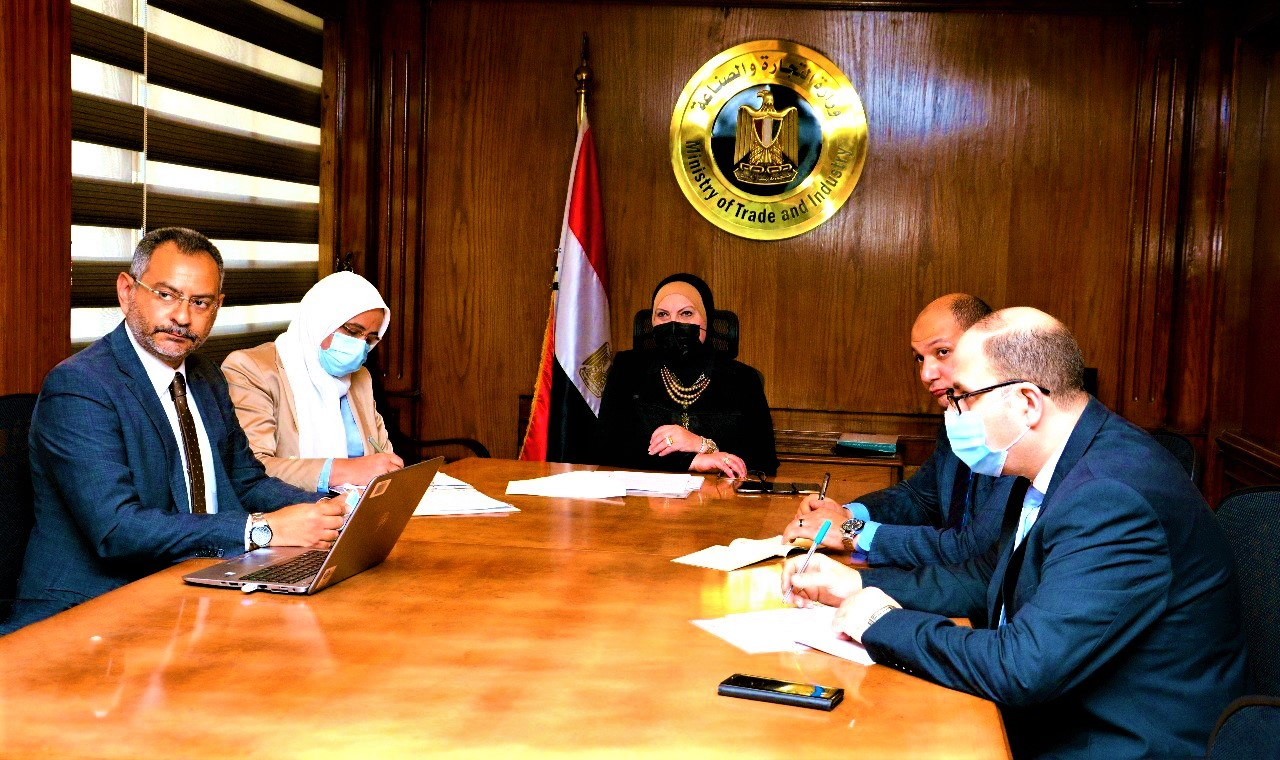 وزيرة التجارة والصناعة تبحث مع مسئولى شركة نيسان العالمية خطط الشركة الإستثمارية فى السوق المصرى خلال المرحلة المقبلة