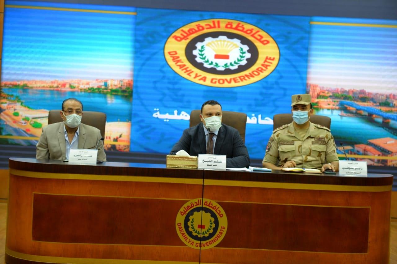 """""""محافظ الدقهلية"""" يكلف نائبه برئاسة اجتماع مناقشة الاشتراطات البنائية الجديدة"""