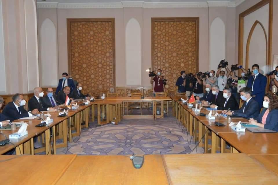 بيان مُشترك حول الجولة الاستكشافية للمشاورات بين مصر وتركيا