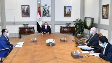Photo of الرئيس يتطلع على مشروعات تطوير قناة السويس