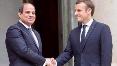 Photo of التقى السيد الرئيس عبد الفتاح السيسى اليوم مع الرئيس الفرنسي إيمانويل ماكرون بقصر الإليزيه في العاصمة الفرنسية باريس