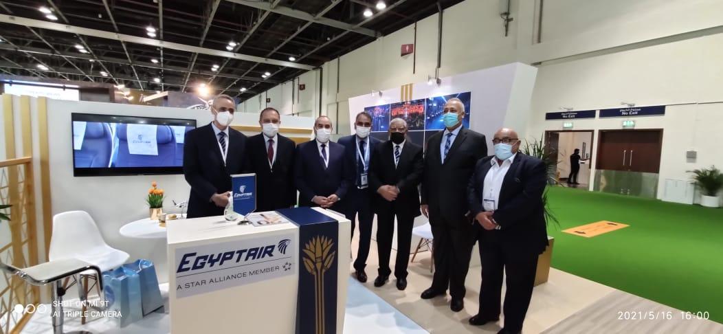 """وزير الطيران يشارك في معرض """"سوق السفر العربي"""" ATM"""