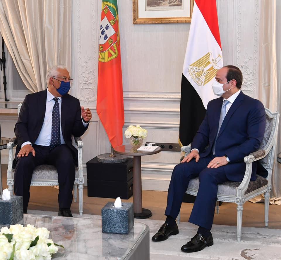 مصر اصبحت بقيادة السيد الرئيس مثال ونموذج ملهم للاستقرار والتنمية يحتذي به في الشرق الاوسط وافريقيا