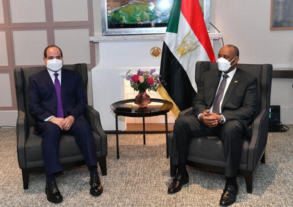 التقى السيد الرئيس عبد الفتاح السيسي مساء اليوم في العاصمة الفرنسية باريس مع السيد الفريق أول عبد الفتاح البرهان، رئيس مجلس السيادة الانتقالي السوداني