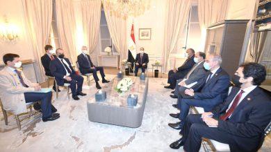 Photo of استقبل السيد الرئيس عبد الفتاح السيسي اليوم السيد برونو لومير، وزير الاقتصاد والمالية الفرنسي، وذلك بمقر إقامة سيادته في باريس