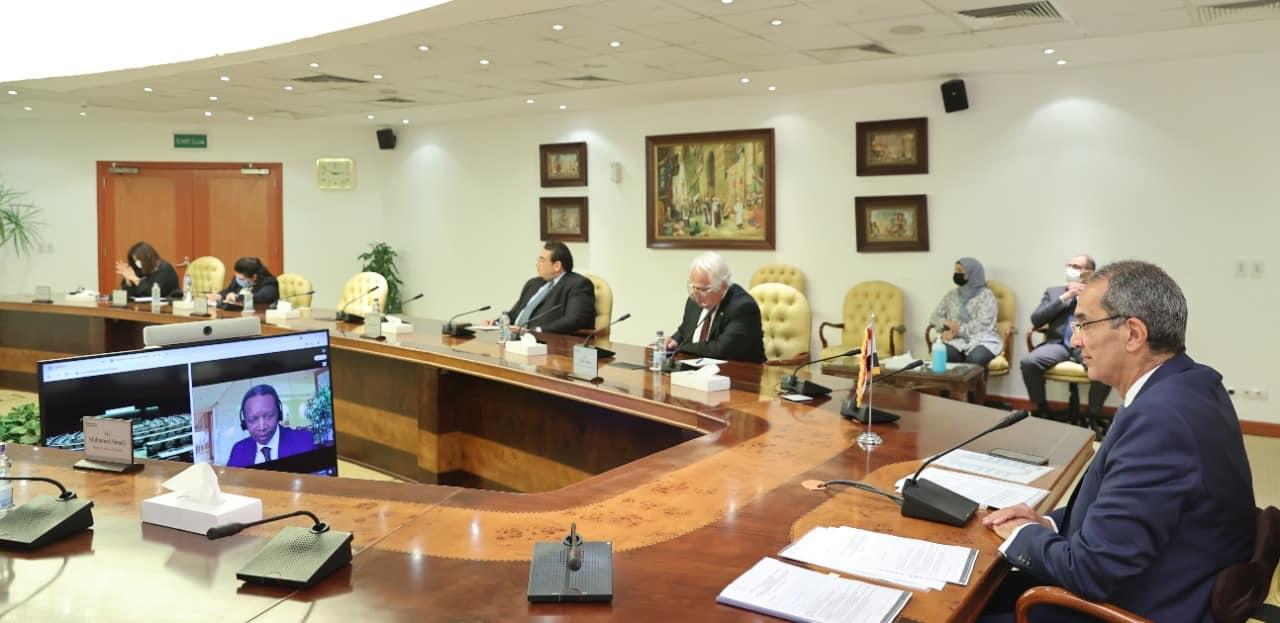 """""""عمرو طلعت"""" استراتجية مصر الرقمية يتم تنفيذها من خلال تشجيع الابتكار والتكنولوجيات البازغة بهدف توفير حلول لتحديات المجتمع"""