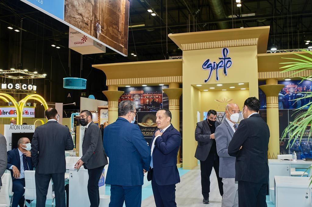 وزارة السياحة والآثار تشارك في الدورة 41 للمعرض الدولي للسياحة والسفر (الفيتور) بالعاصمة الإسبانية مدريد