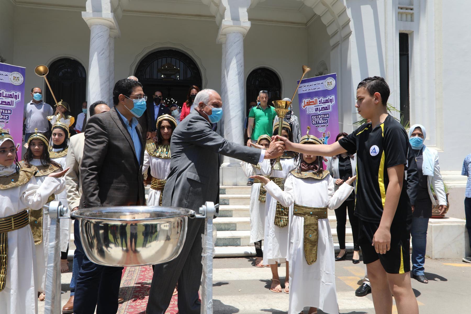محافظ الجيزة يطلق فعاليات أولمبياد الطفل المصري في نسخته الثالثة