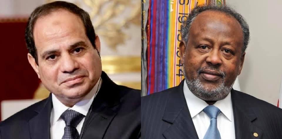 يتوجه السيد الرئيس عبدالفتاح السيسي صباح اليوم إلى جيبوتي لعقد لقاء قمة مع رئيس جمهورية جيبوتي إسماعيل عمر جيلة