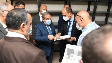 """Photo of """"وزير الدولة للإنتاج الحربي"""" يتفقد مبنى الوزارة في العاصمة الإدارية الجديدة"""