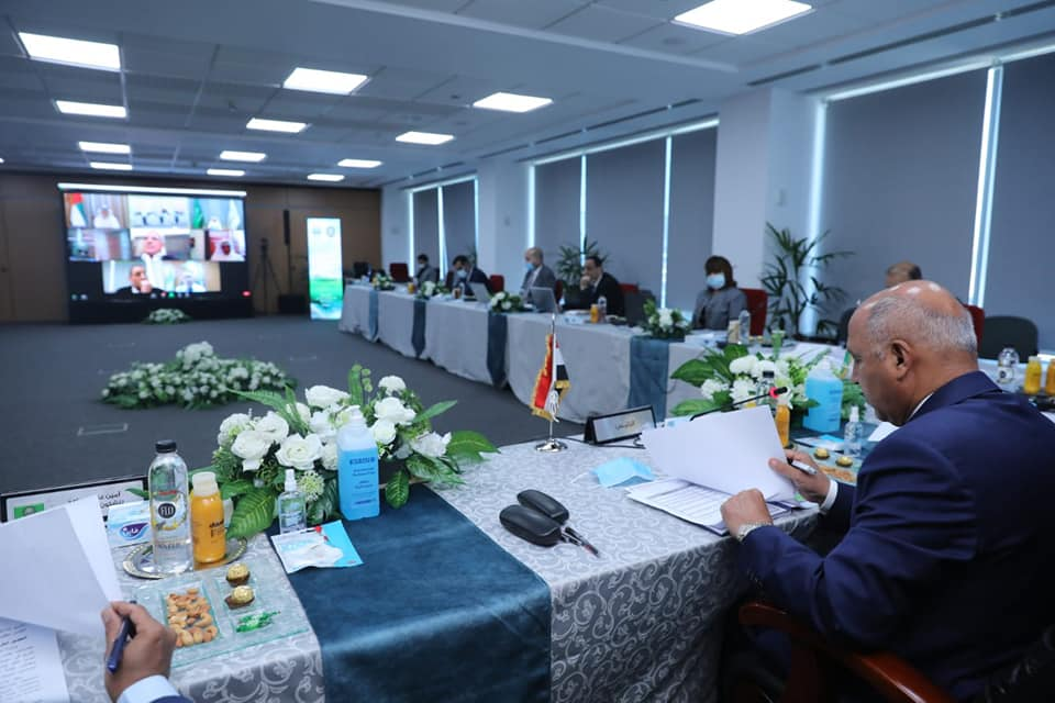 وزير النقل المصري يترأس اجتماع الدورة 66 للمكتب التنفيذي لمجلس وزراء النقل العرب